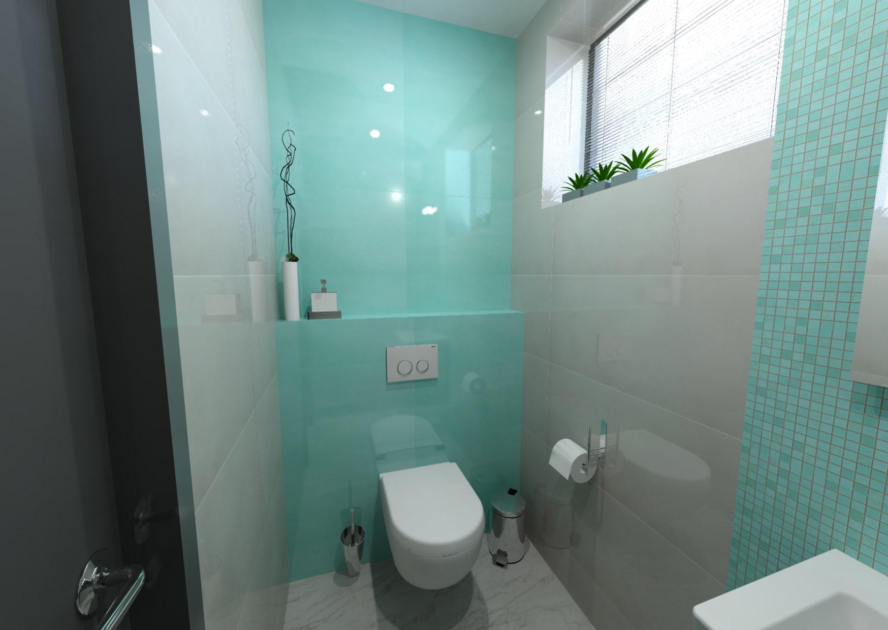 Návrh místnosti s toaletou