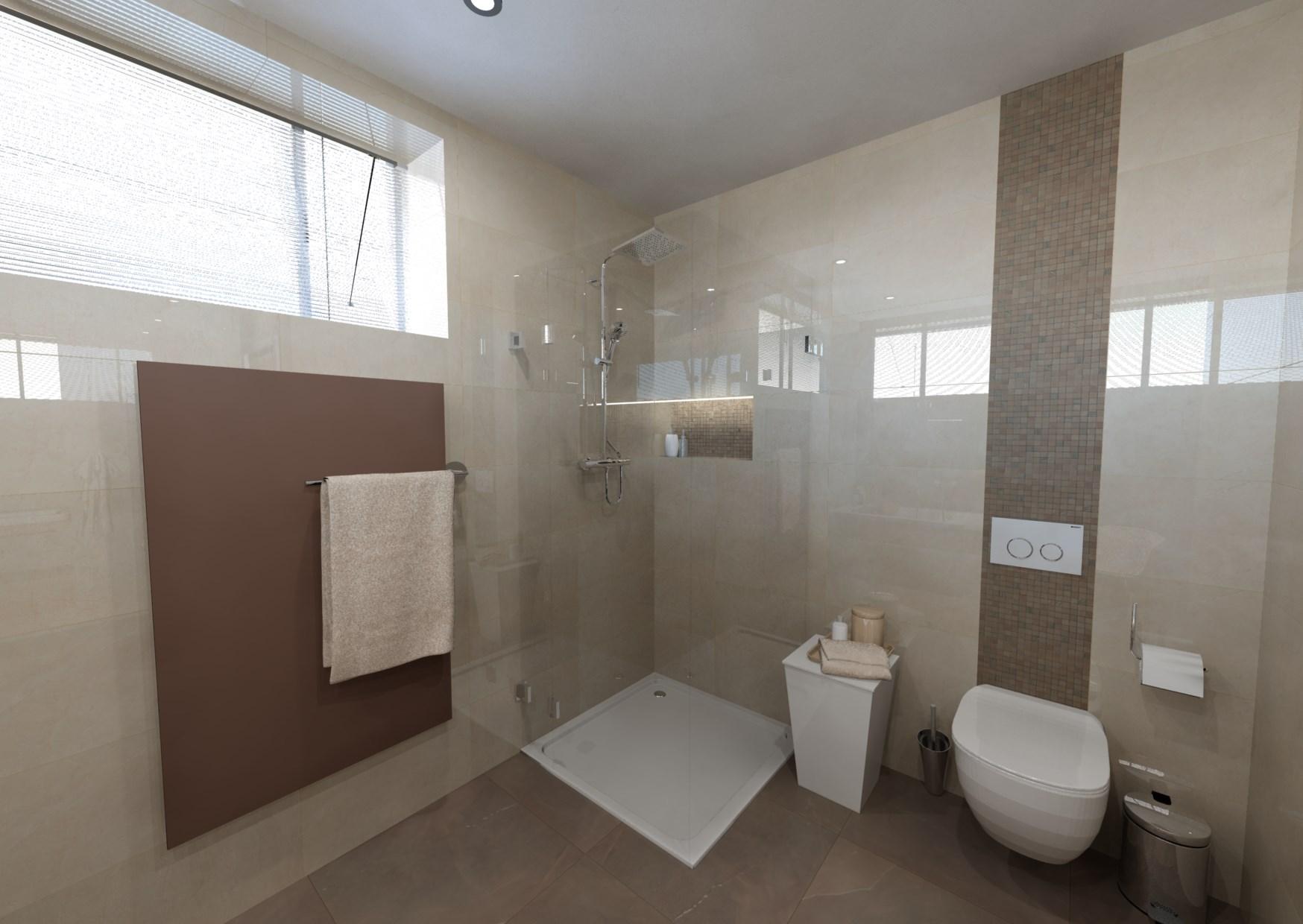 Návrh mramorové koupelny