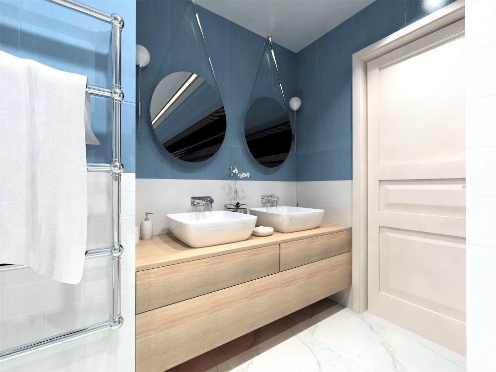 Návrh barevné koupelny 1