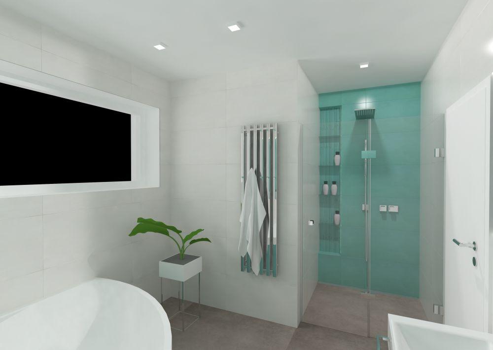 Návrh barevné koupelny 2