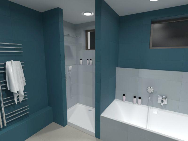 Návrh barevné koupelny 19