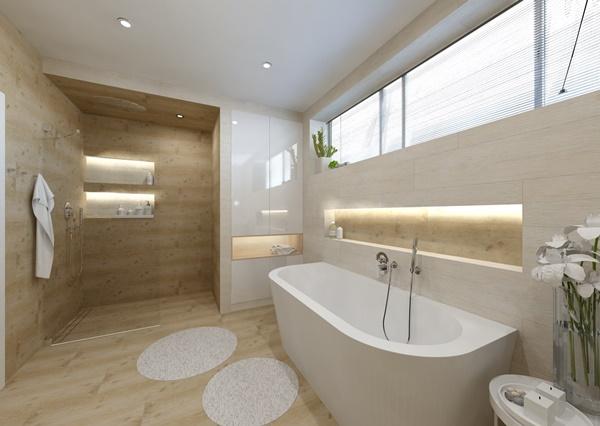 Návrh koupelny ve více variantách 0