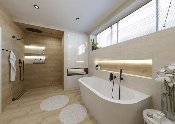 Návrh koupelny ve více variantách 1