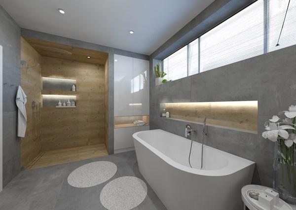 Návrh koupelny ve více variantách 2