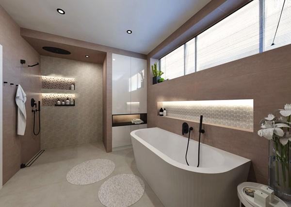 Návrh koupelny ve více variantách 3