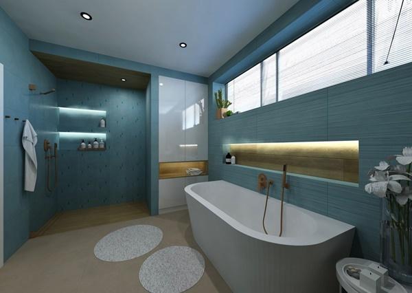 Návrh koupelny ve více variantách 4