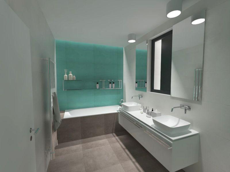 Návrh barevné koupelny 21