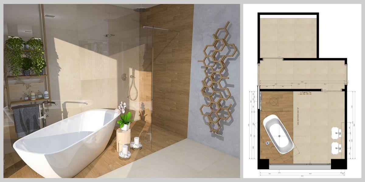 Návrh koupelny online 2