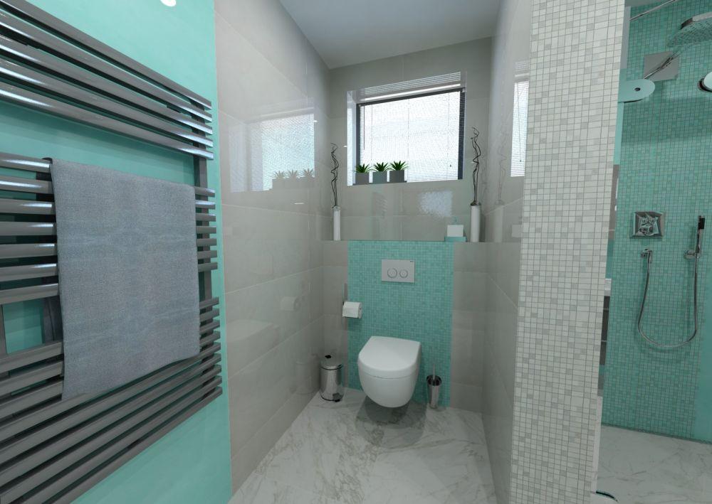 Návrh barevné koupelny 9