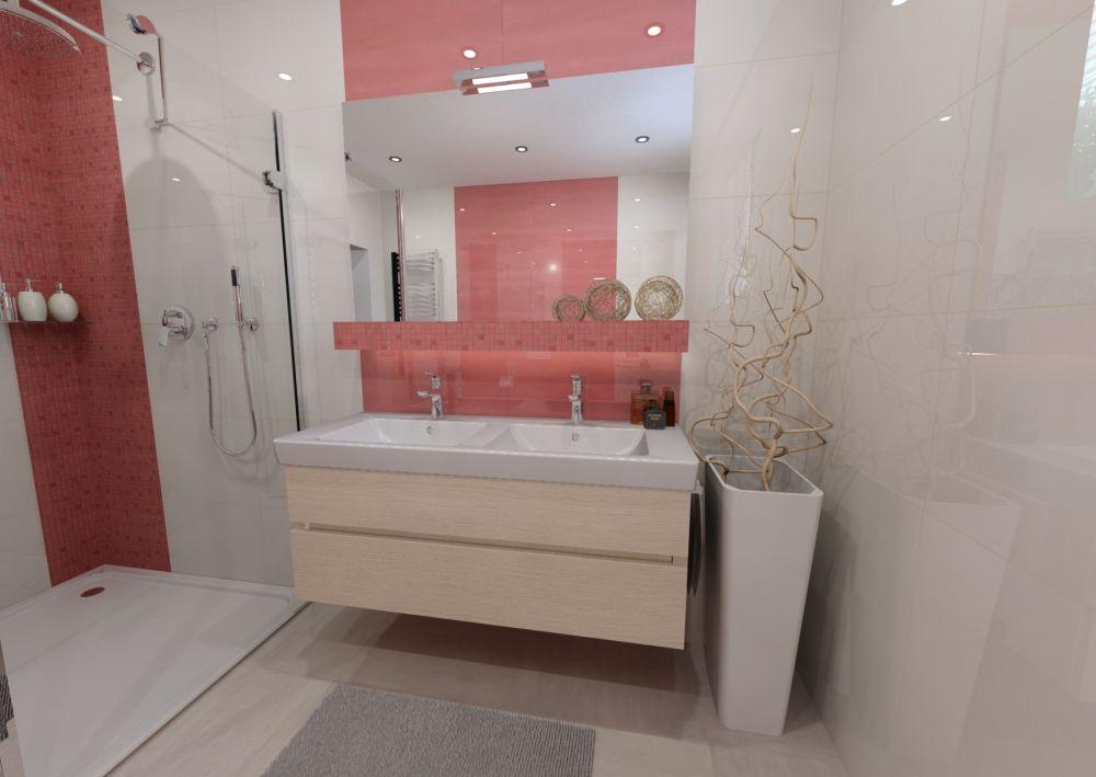 Návrh barevné koupelny 5