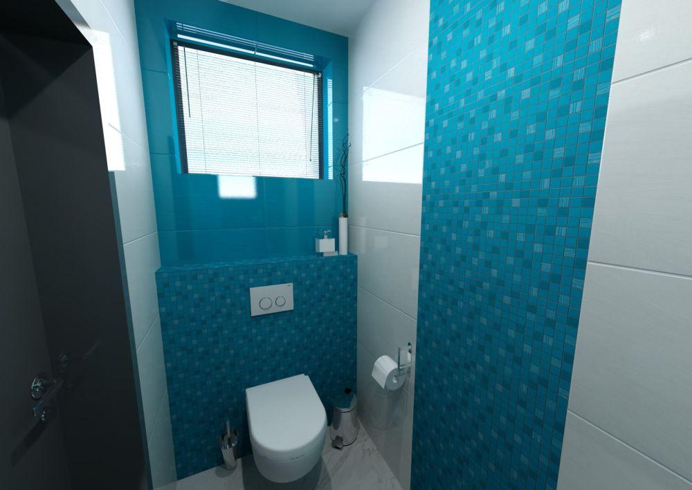 Návrh barevné koupelny 6