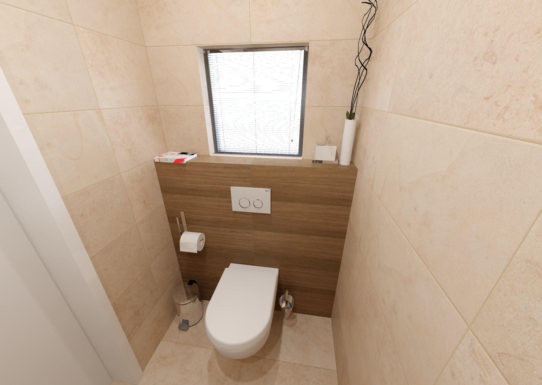 Návrh koupelny s dřevěným dekorem 5