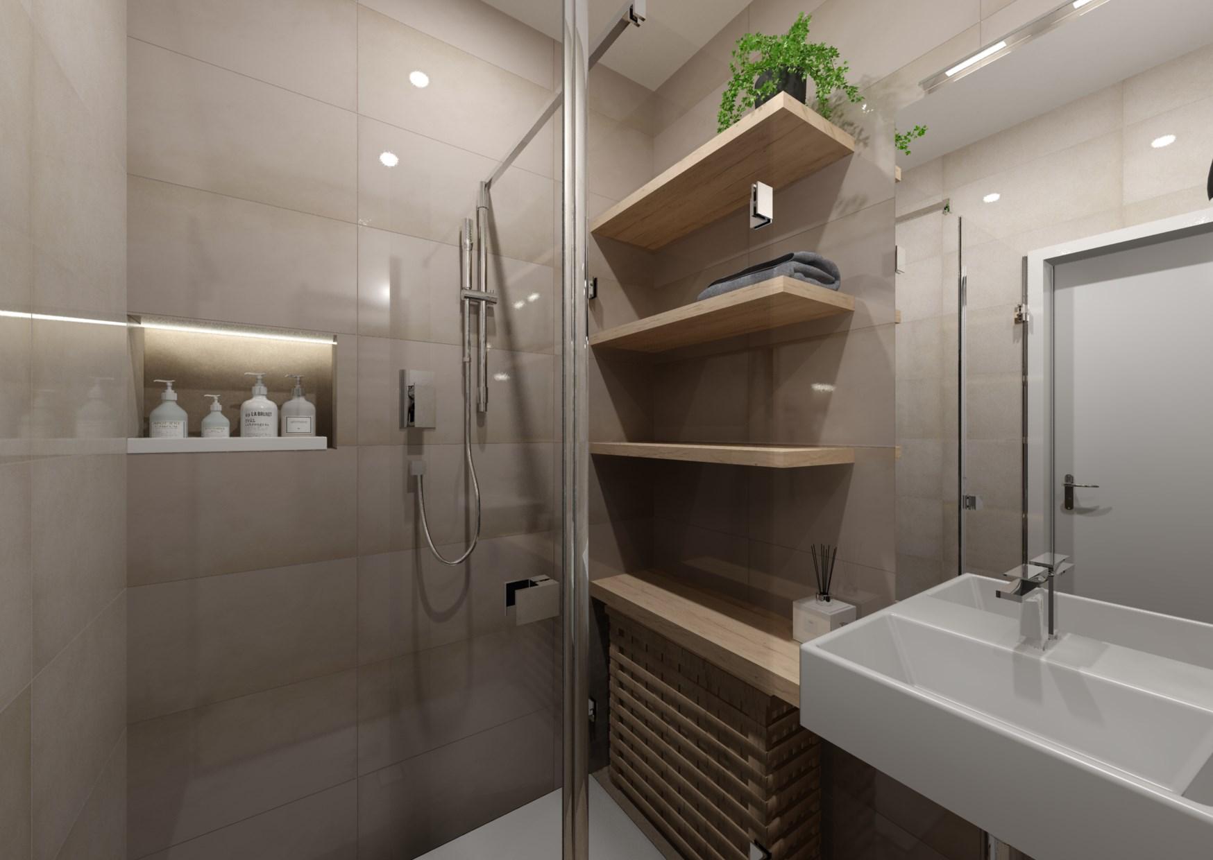 Návrh rekonstrukce mini koupelny  1