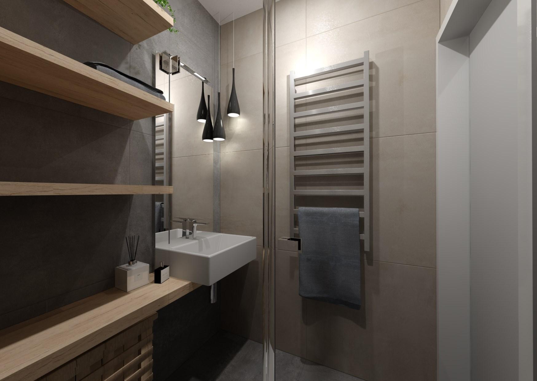 Návrh rekonstrukce mini koupelny  6