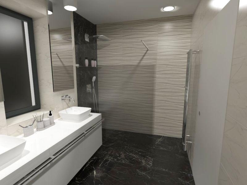 Návrh malé koupelny 15