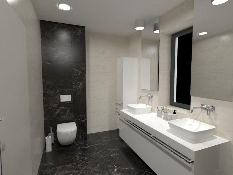 Návrh malé koupelny 18