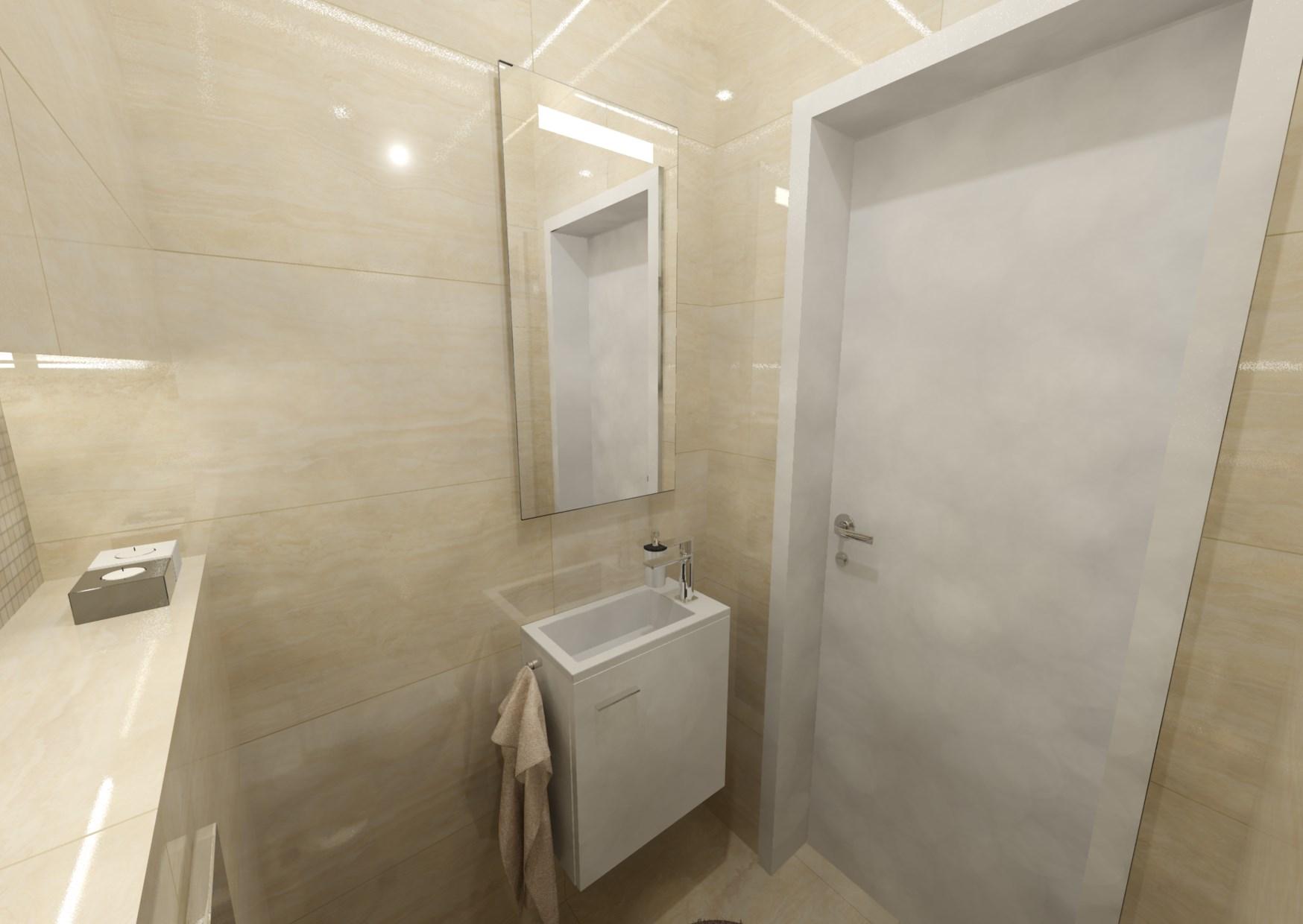 Návrh malé koupelny 21