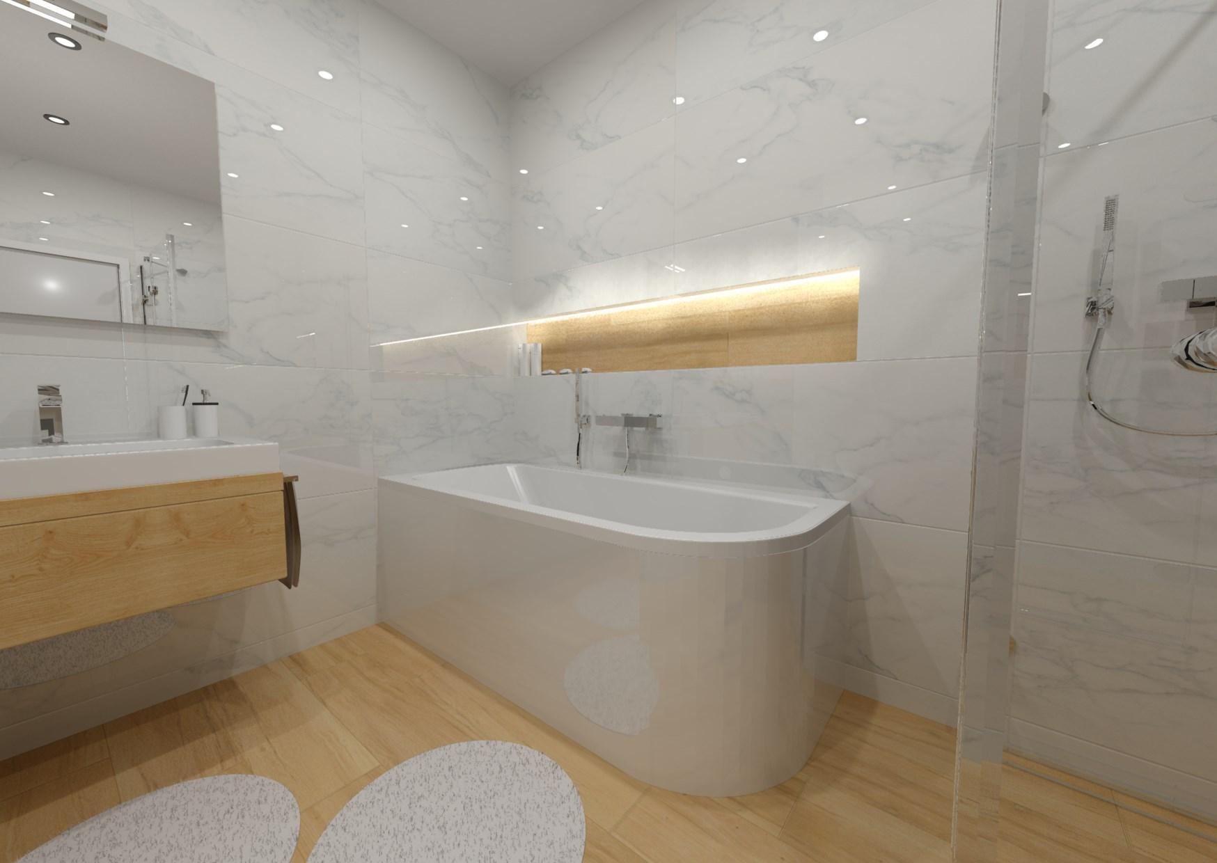 Návrh koupelny s nikou 4