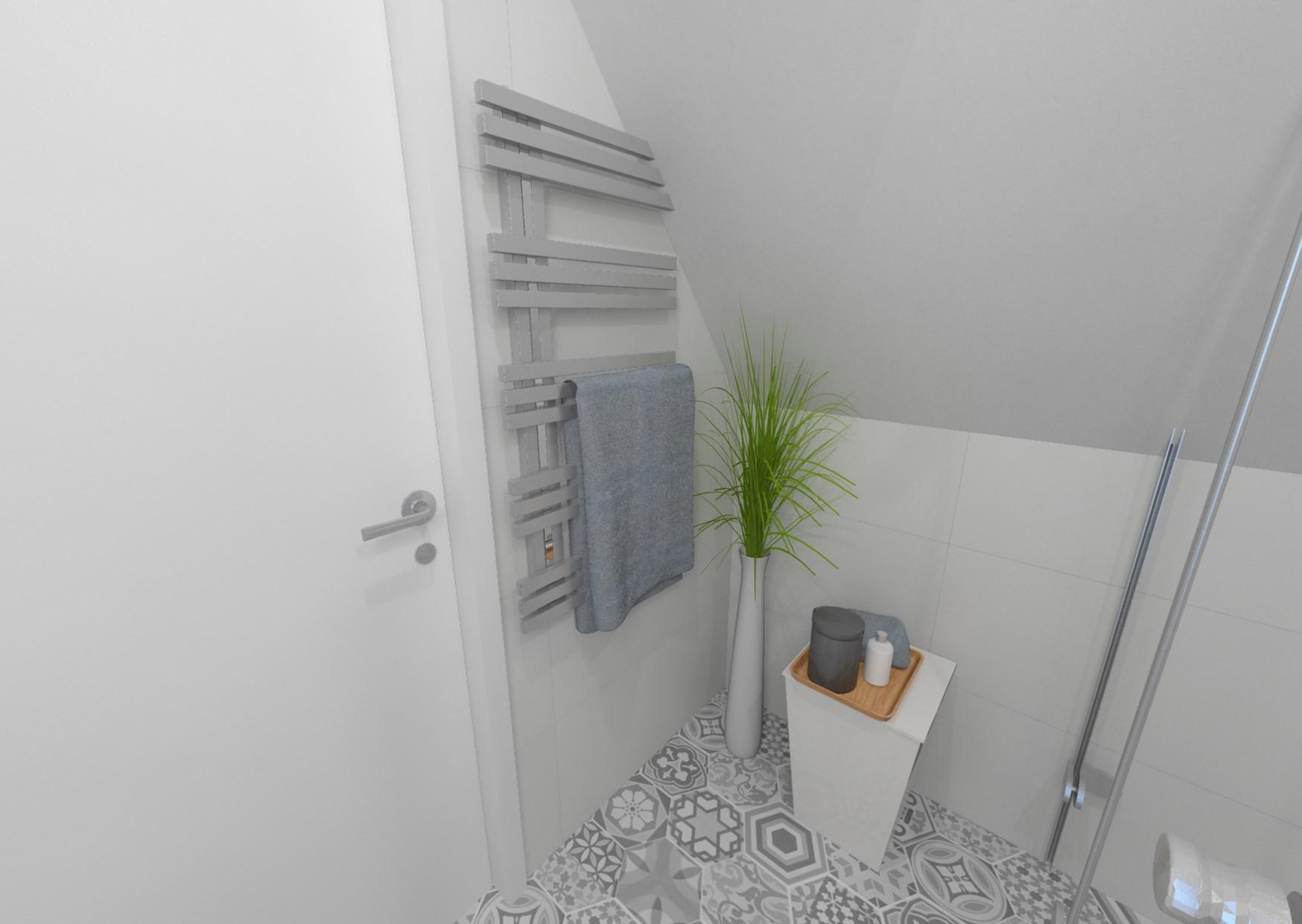 Návrh retro koupelny 1