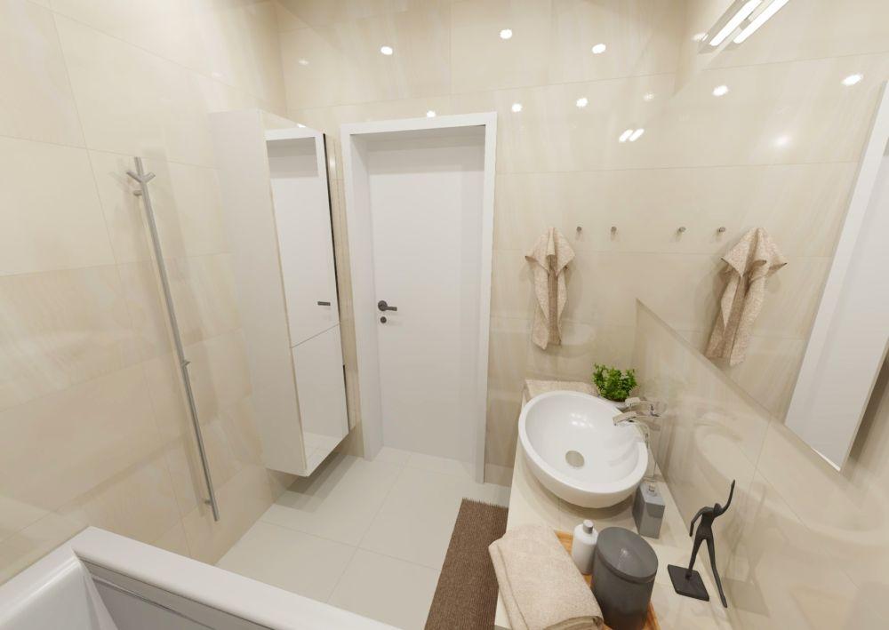 Návrh světlé koupelny 2
