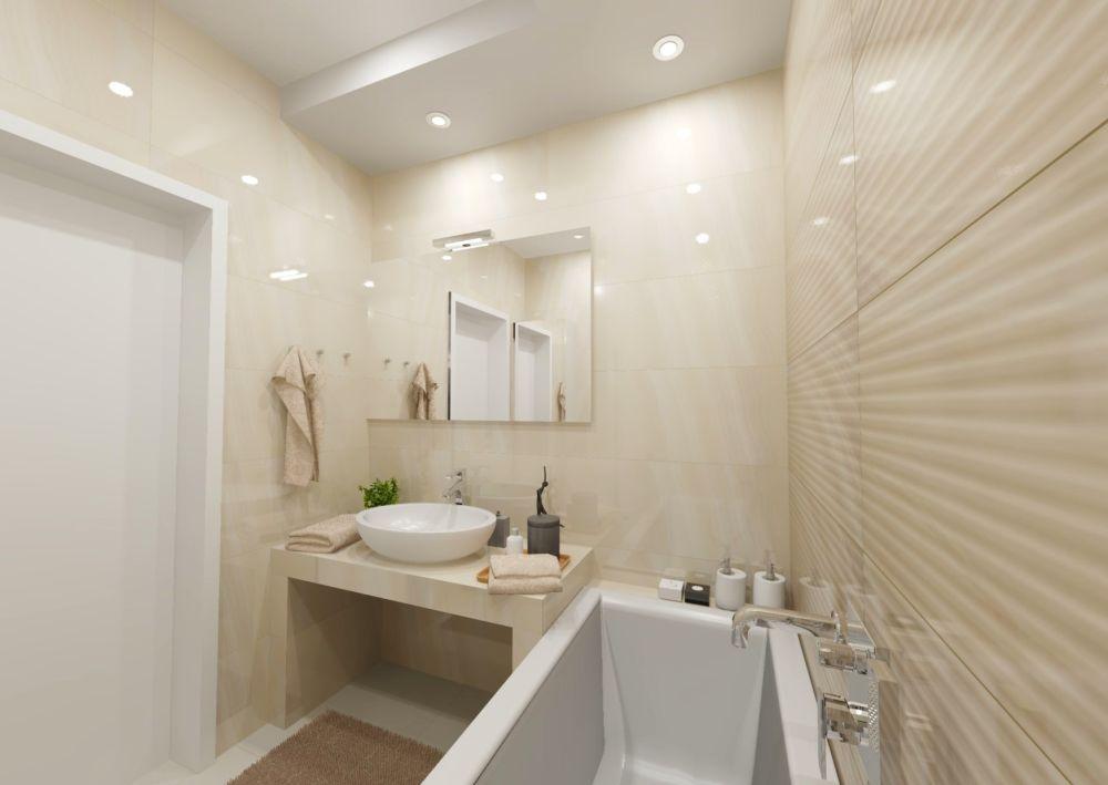 Návrh světlé koupelny 6