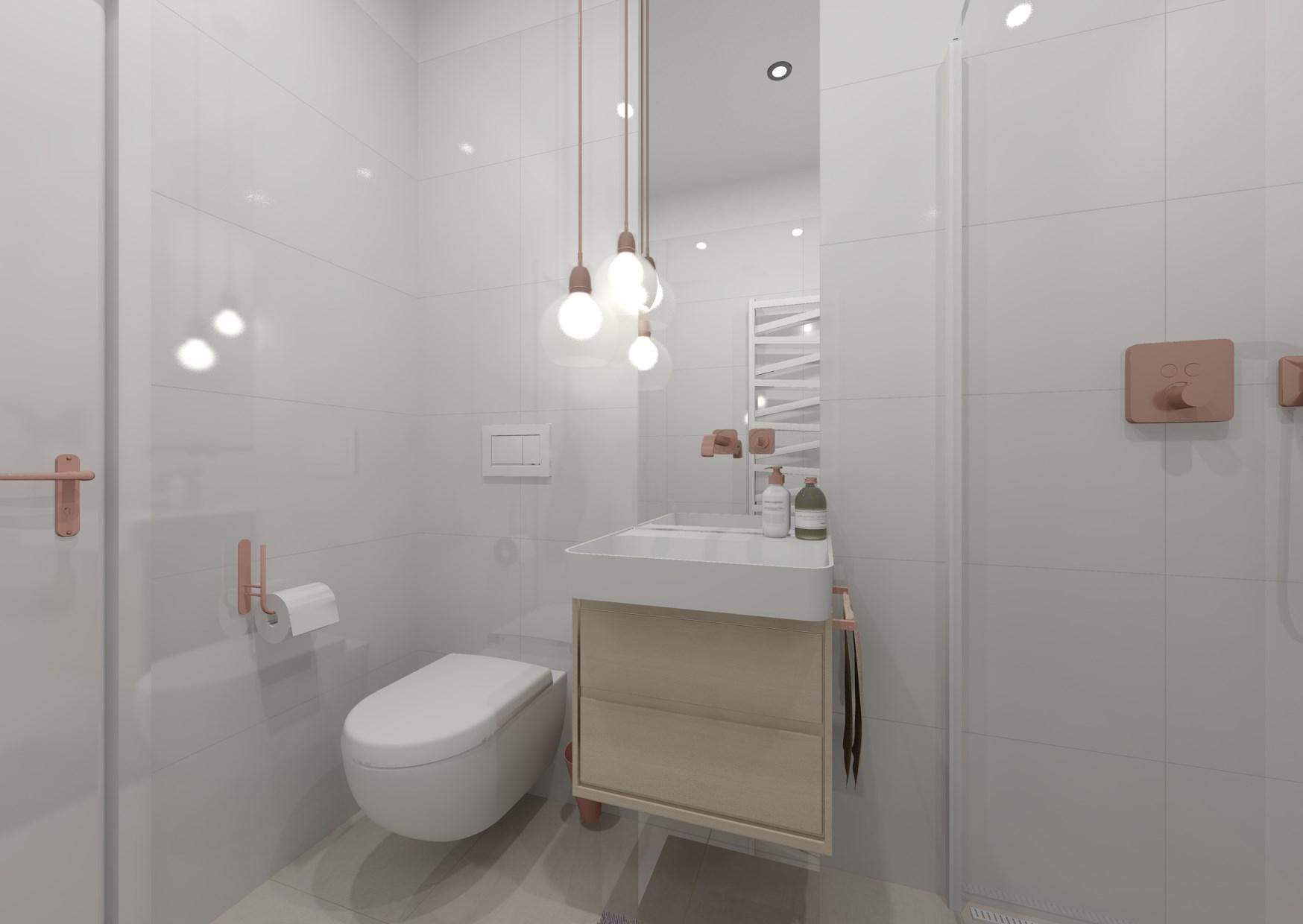 Návrh malé dámské koupelny 2