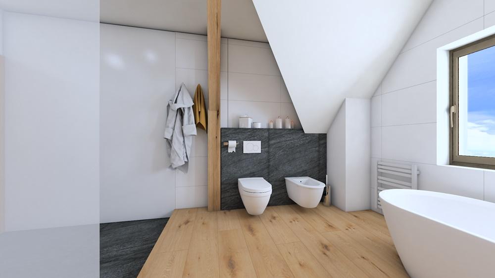 Návrh koupelny ve stylu wellness 0