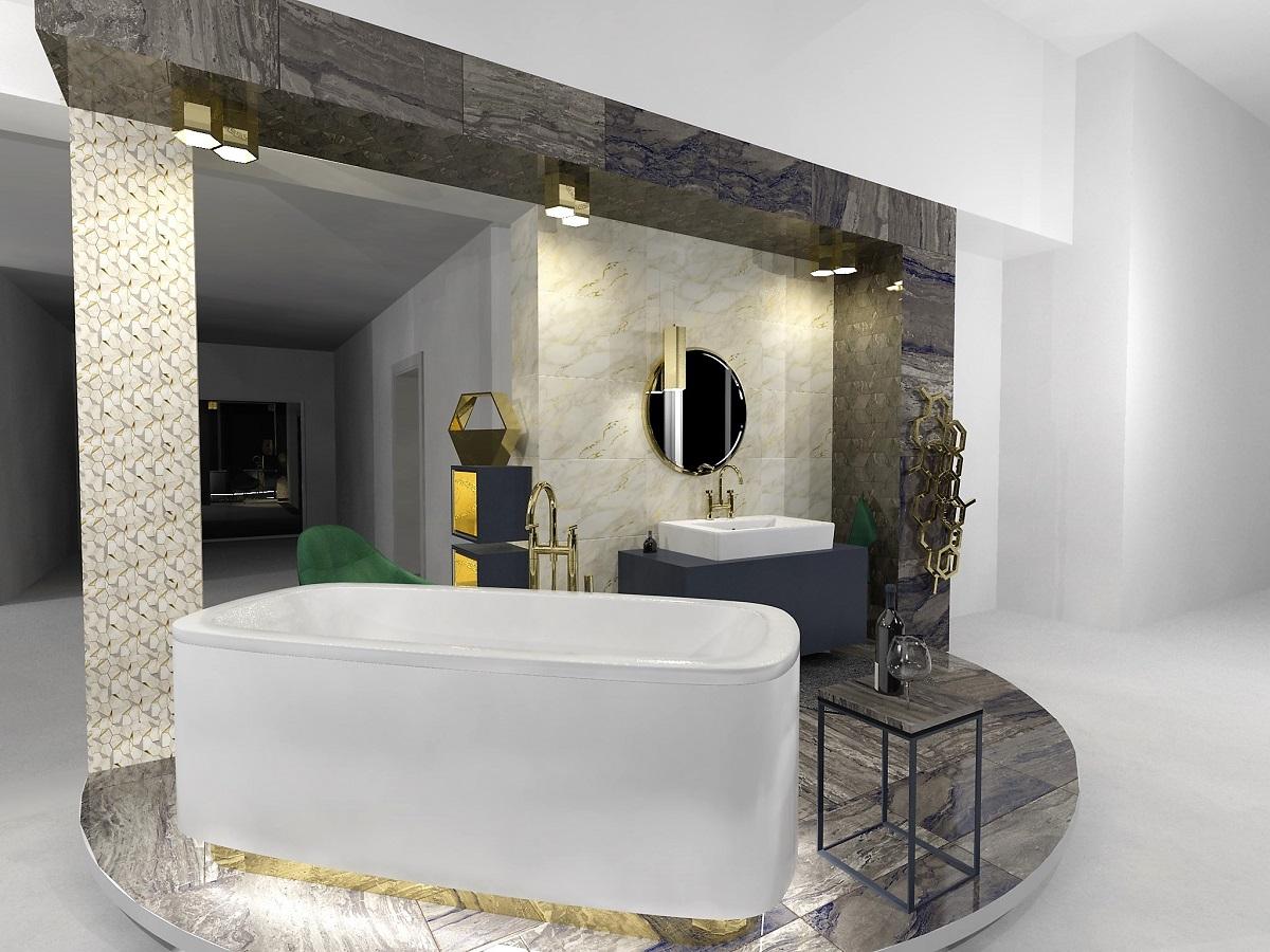 Návrh glamour koupelny 4