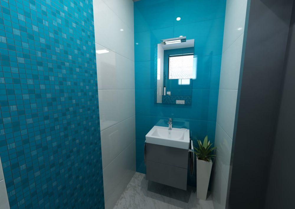 Návrh místnosti s toaletou 6