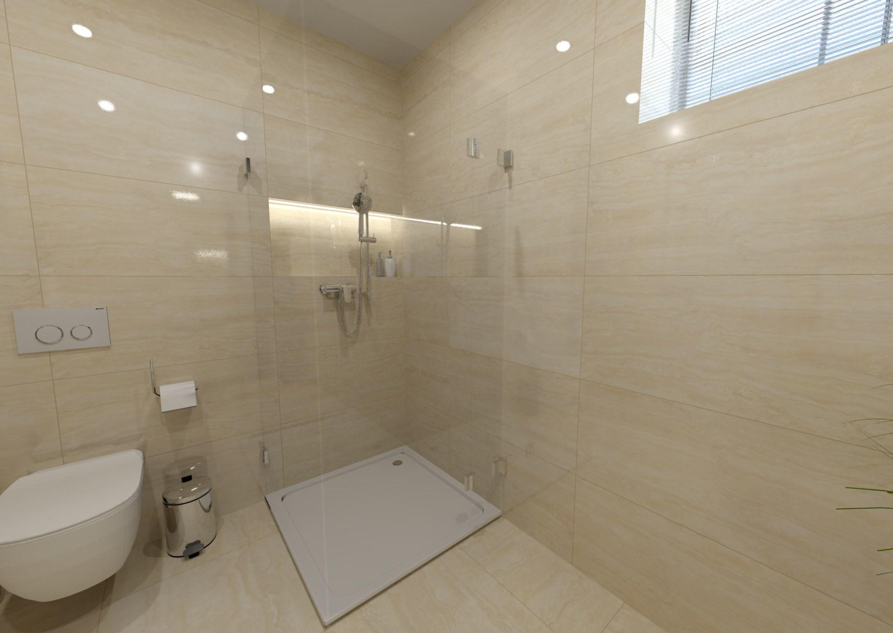 Návrh mramorové koupelny 2