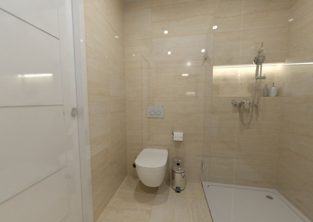 Návrh světlé koupelny 4