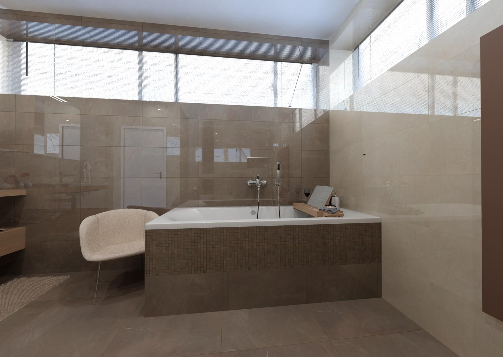 Návrh mramorové koupelny 6