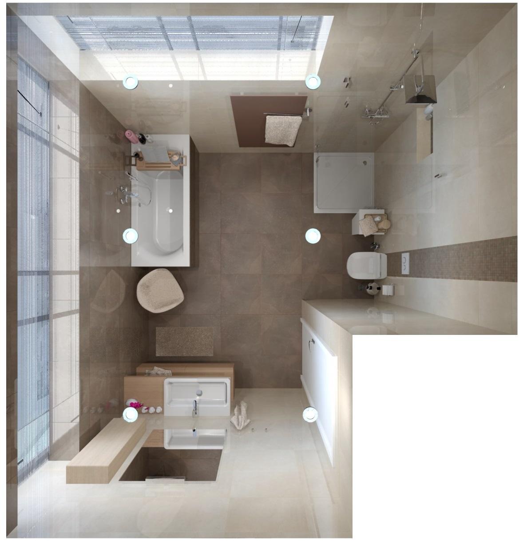 Návrh mramorové koupelny 9