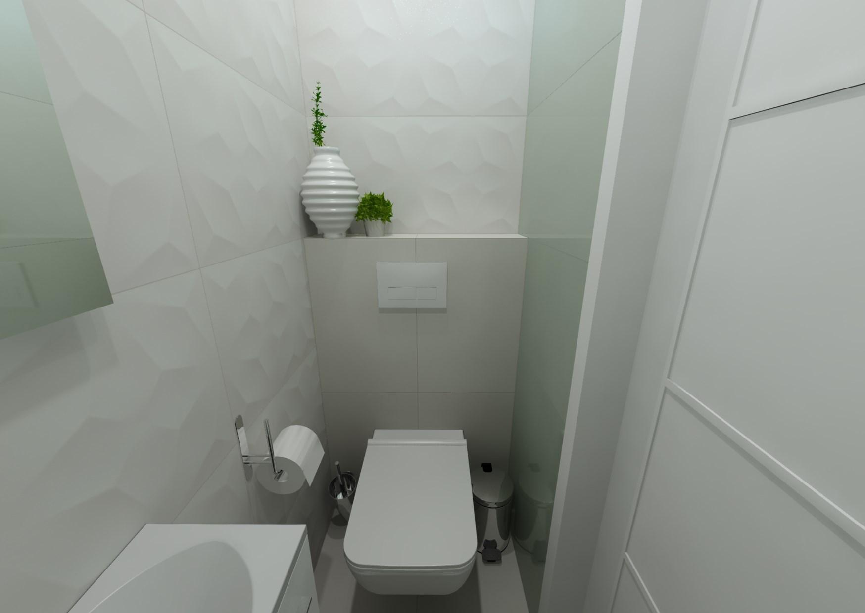 Návrh koupelny s 3D obklady 4