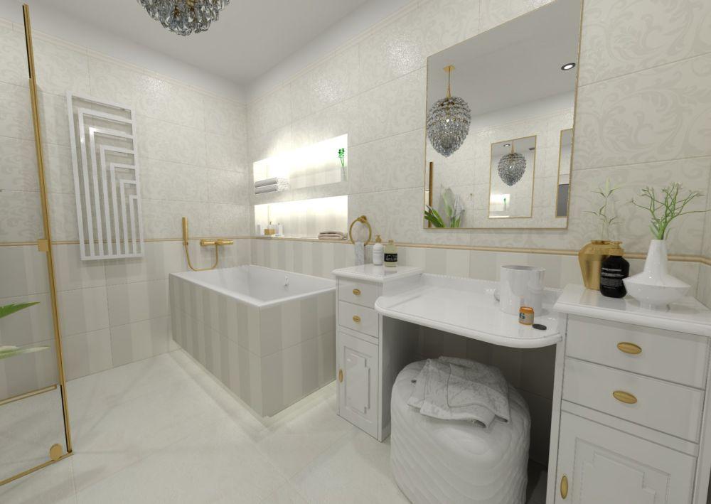 Návrh glamour koupelny 0