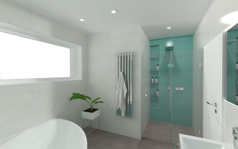 Návrh malé koupelny 22