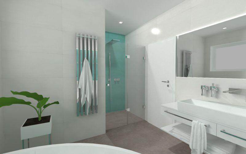 Návrh barevné koupelny 25