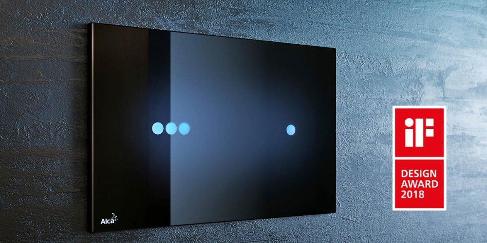 AlcaPLAST zazářil s tlačítky NIGHT LIGHT