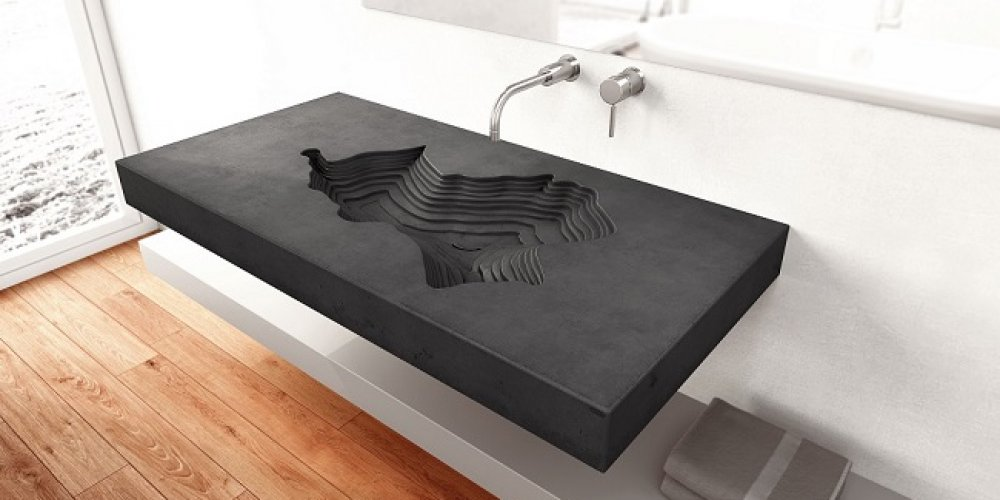 Betonová umyvadla ve vaší koupelně