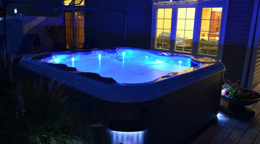 Domácí vířivka - oáza klidu a relaxace