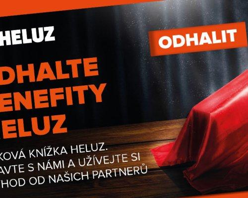 Jsme partnerem Šekové knížky HELUZ