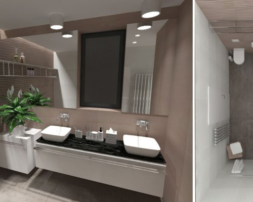 Grafický návrh vaší vysněné koupelny zdarma