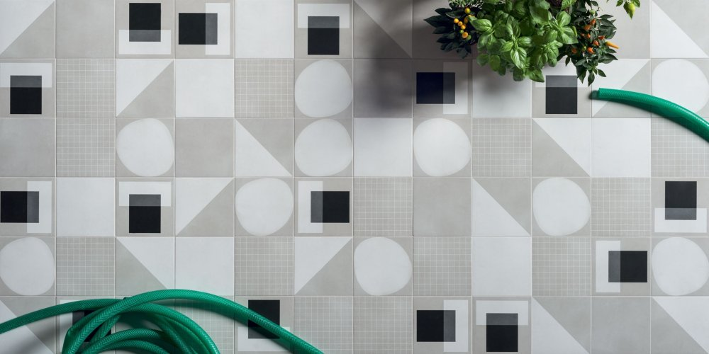 Svěží design dlažeb a obkladů nejen do koupelny