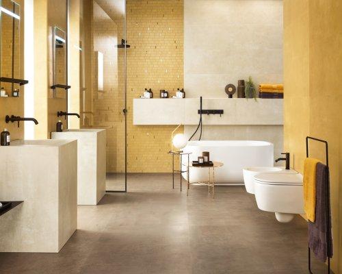 Barevná cementová kolekce obkladů a dlažeb Boost Pro