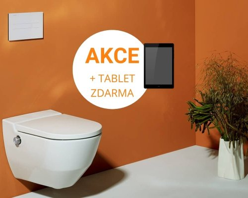 Akční nabídka WC s bidetovou sprškou