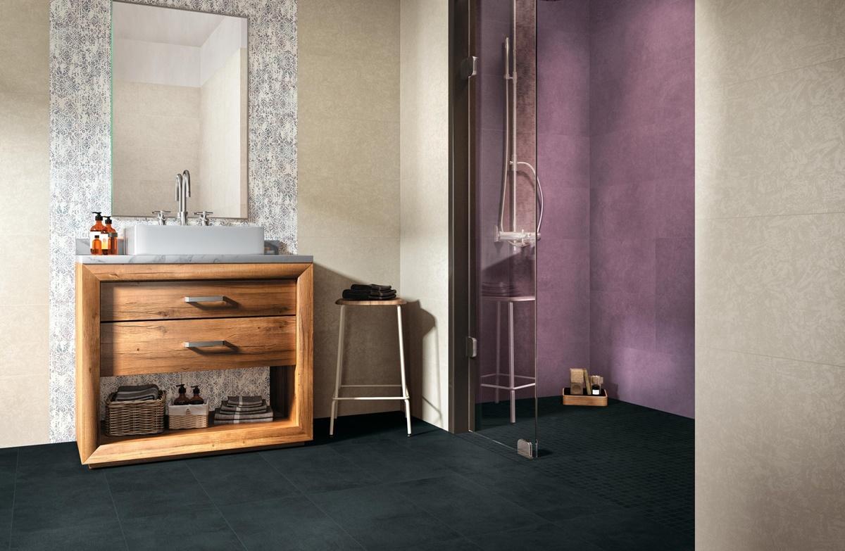 Odvážné barvy v betonové kolekci dlažeb a obkladů Flux