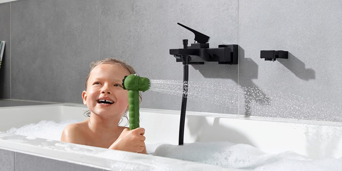 Dětská sprcha Jocolino – skvělá zábava pro děti v koupelně
