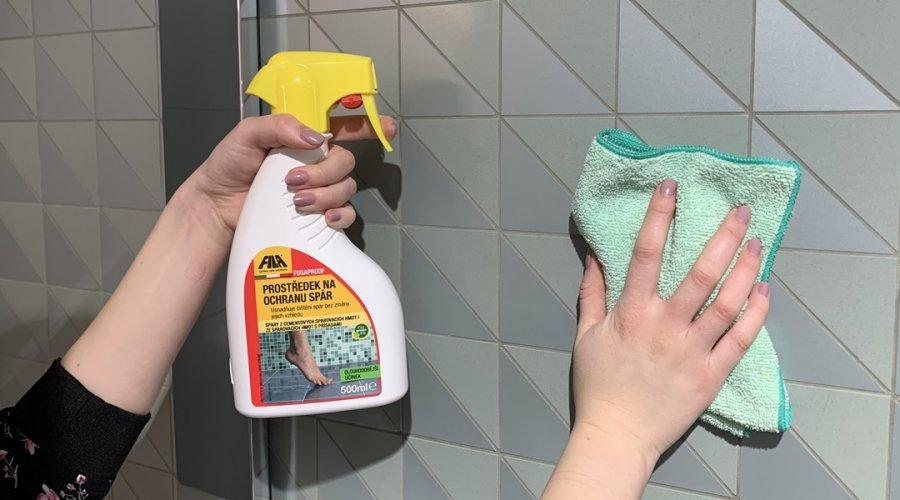 Jak ošetřovat a čistit keramické dlažby a obklady