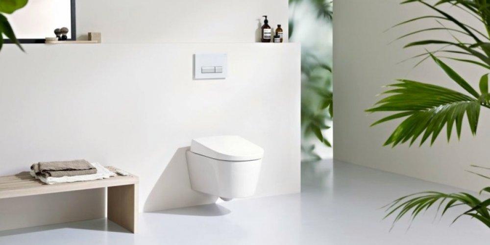 GEBERIT přichází s novinkou v oblasti sprchovacích klozetů AquaClean.