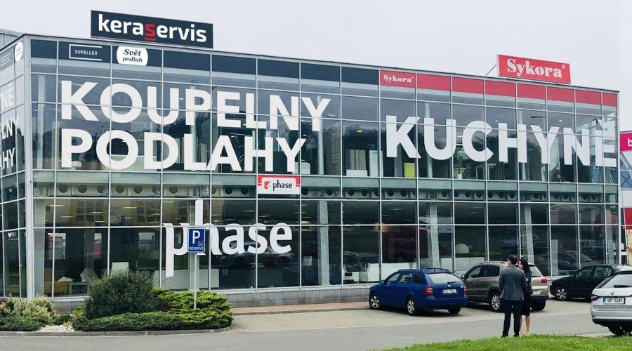 Keraservis Ostrava se stěhuje do nového showroomu